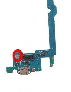 lg k10 mobile board ic tach